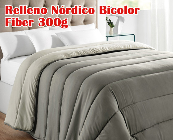 Relleno Nórdico Bicolor Fiber 300g Rf03 De Pikolin Home